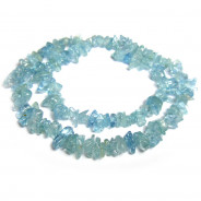 A Grade Aquamarine Chip Beads