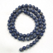 Blue Aventurine 6mm Round Beads
