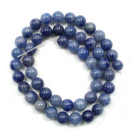 Blue Aventurine 8mm Round Beads
