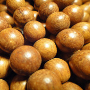 Bayong 10mm Round Wood Beads