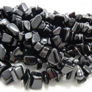 Black Onyx Large Chip Beads