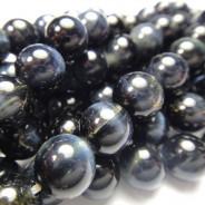 Blue Tiger Eye 8mm Round Beads