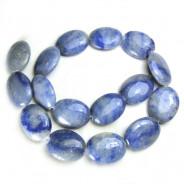 Blue Aventurine 18x25mm Puffy Oval Beads
