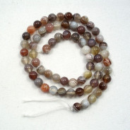 Botswana Agate 6mm Round Beads