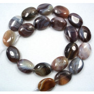 Botswana Agate 15x20mm Oval Beads