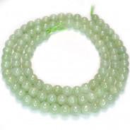 Jade 4mm Round Beads