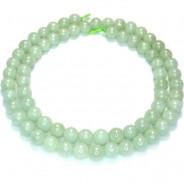 Jade 6mm Round Beads