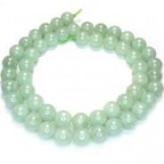 Jade 8mm Round Beads