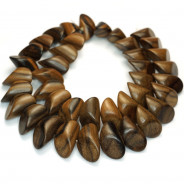 Kamagong (Tiger Ebony) Small Slice Wood Beads