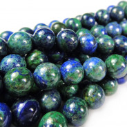 Chrysocolla 8mm Round Beads