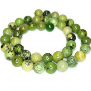 Chrysoprase 10mm Round Beads