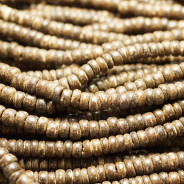 Coco Natural Brown Wood Beads