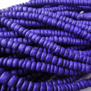 Coco Violet Wood Beads