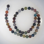 Fancy Jasper Round 8mm Beads
