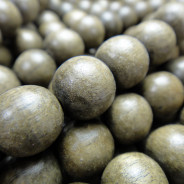 Greywood Round 10mm Wood Beads