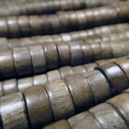 Greywood Pokalet Wood Beads