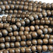 Greywood Round 6mm Wood Beads