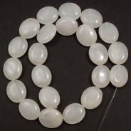Xingjiang Jade 15x18mm Oval Beads