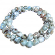 Larimar Large Nugget Beads