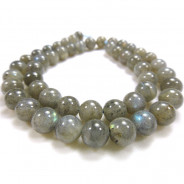 Labradorite 8mm Round Beads