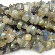 Labradorite Chip Beads