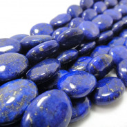 Lapis Lazuli 13x18mm Puffy Oval Beads