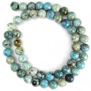 Larimar 8mm Round Beads