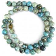 Larimar 8mm Round Beads