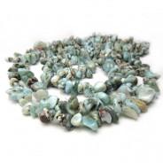 Larimar Chip Beads