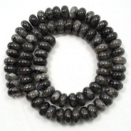 Larvikite 5x8mm Rondelle Beads