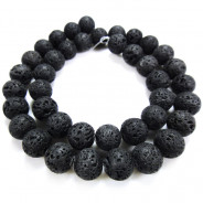 Lava Rock 10mm Round Beads