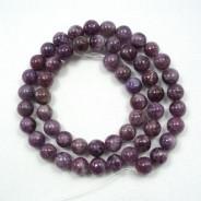 Lepidolite 8mm Round Beads