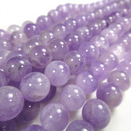 Light Amethyst (Lavender Amethyst) 10mm Beads