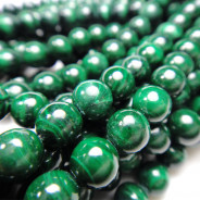 Malachite 6mm Round Beads