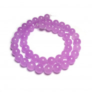 Malay Jade Orchid 8mm Round Beads