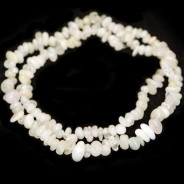 Morganite Chip Beads