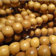 Nangka 6mm Round Wood Beads