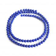 Natural Lapis Lazuli 4mm Round Beads