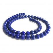 Natural Lapis Lazuli 6mm Round Beads