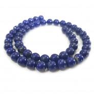 Natural Lapis Lazuli 8mm Round Beads