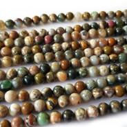 Ocean Jasper 6mm Round Beads