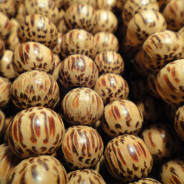 Palmwood 6mm Round Wood Beads