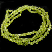 Peridot 3x5mm Chip Beads