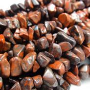 Poppy Jasper Chip Beads