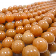 Red Aventurine 10mm Round Beads
