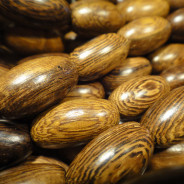 Robles Oval Wood Beads