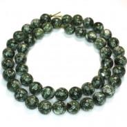 Seraphinite 8mm Round Beads