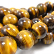 Tiger Eye 10mm Round Beads