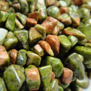 Unakite Chip Beads