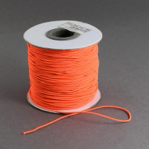 Orange Elastic Cord 2mm Round 40m Roll